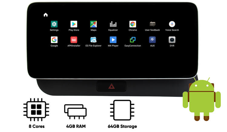 Audi Q5 android navigation GPS with 4GB ram 64GB ROM