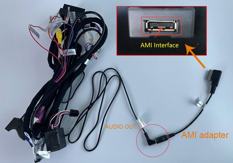 AMI cable connection