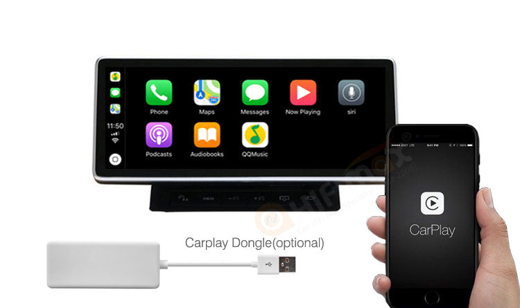 Audi A6 android navigation support Apple Carplay
