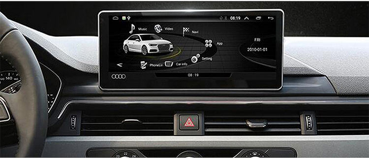 audi a4 2018 android screen