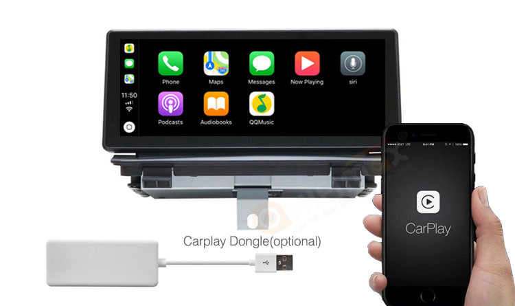 Audi Q3 android navigation GPS support Apple Carplay & Android Auto