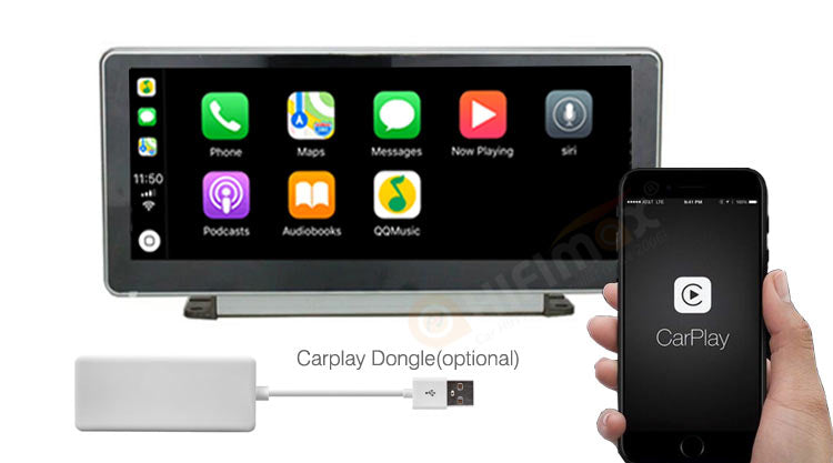 Audi A4 android navigation support apple carplay android auto