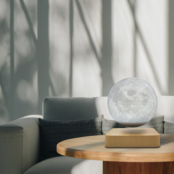floating moon lamp