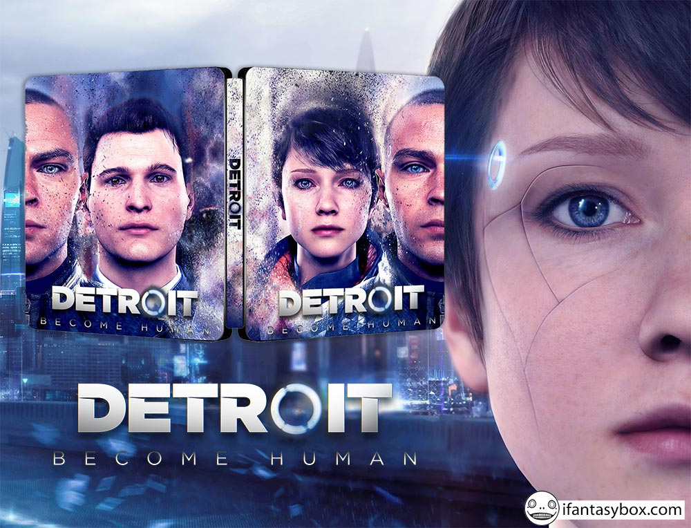 Detroit Phantom Edition Steelbook