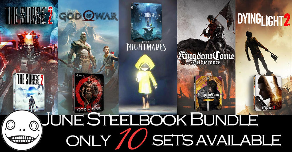 June limited edition Steelbooks Bundle FantasyBox