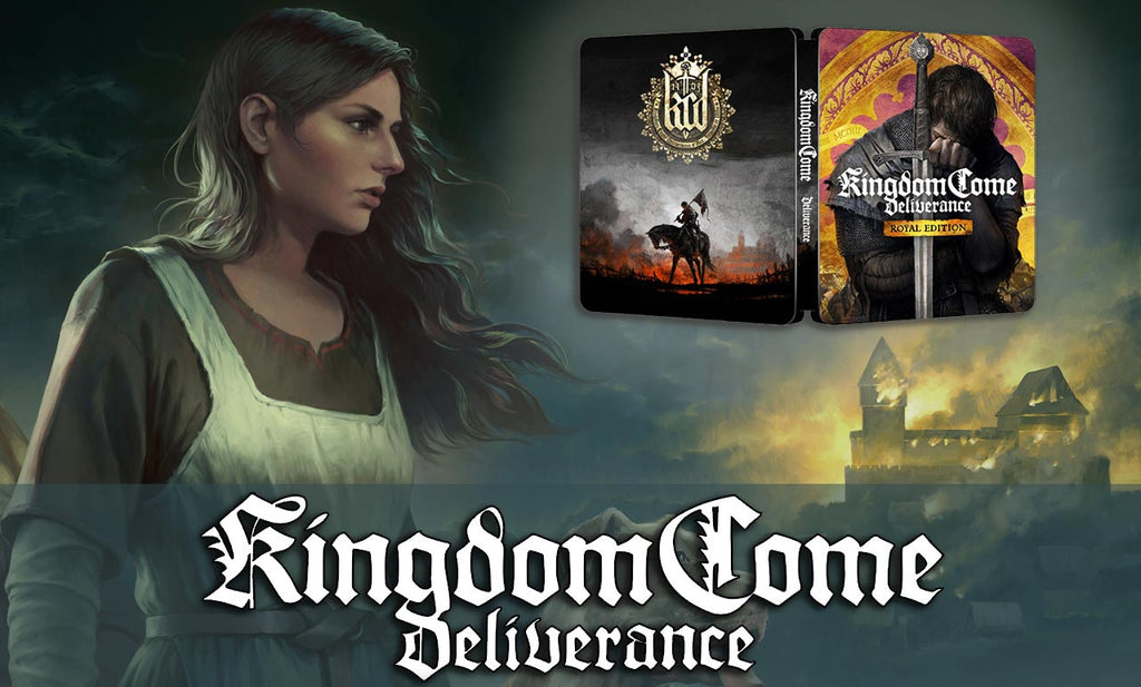 Kingdom come steelbook FantasyBox