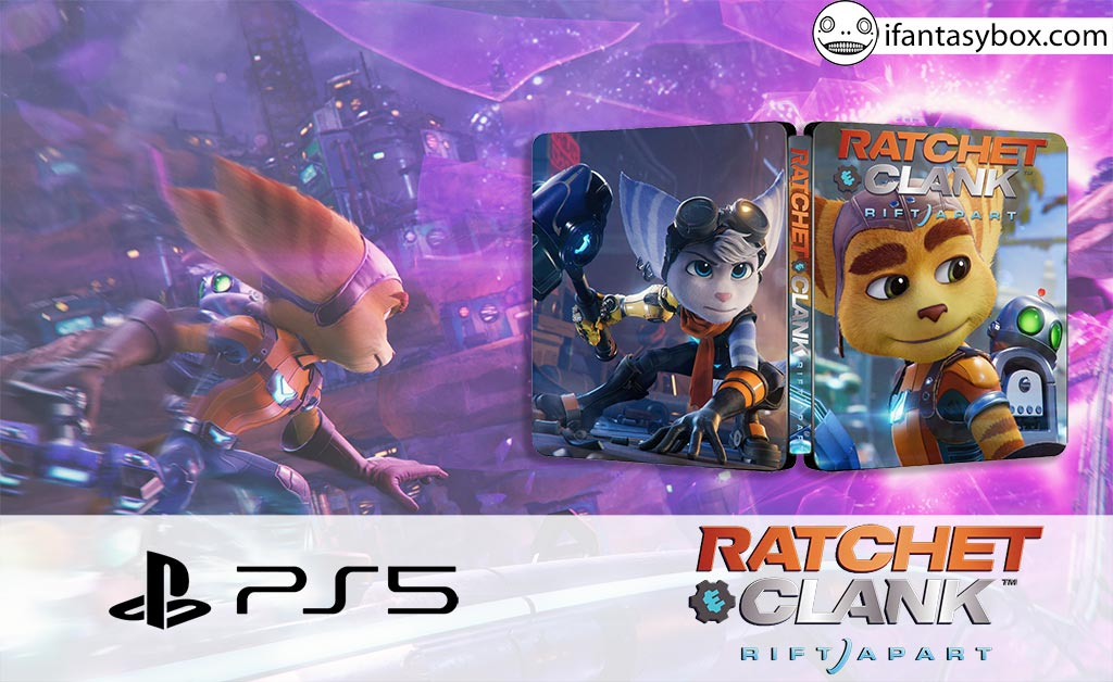 Ratchet & Clank Rift Apart PS5 Steelbook FantasyBox