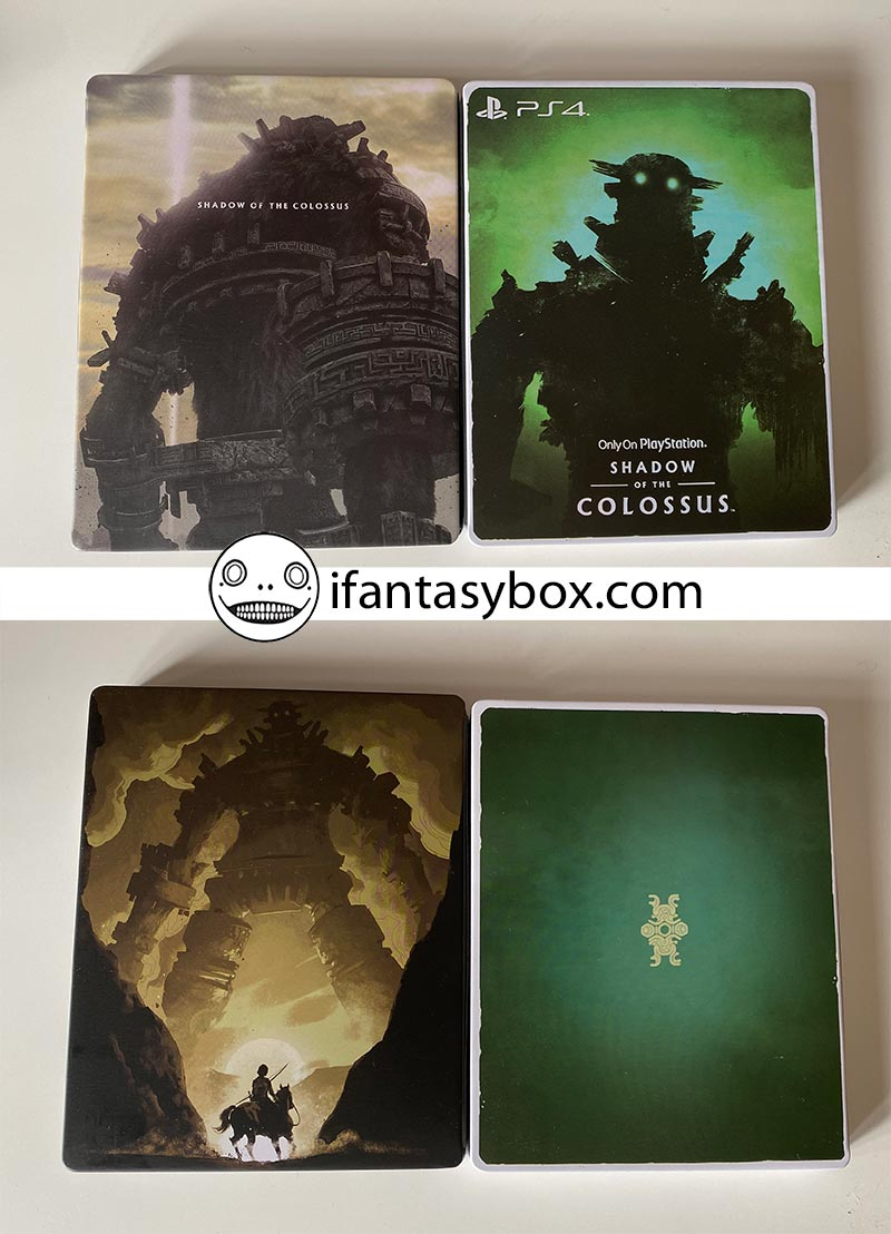 Shadow of the Colossus steelbook fantasybox