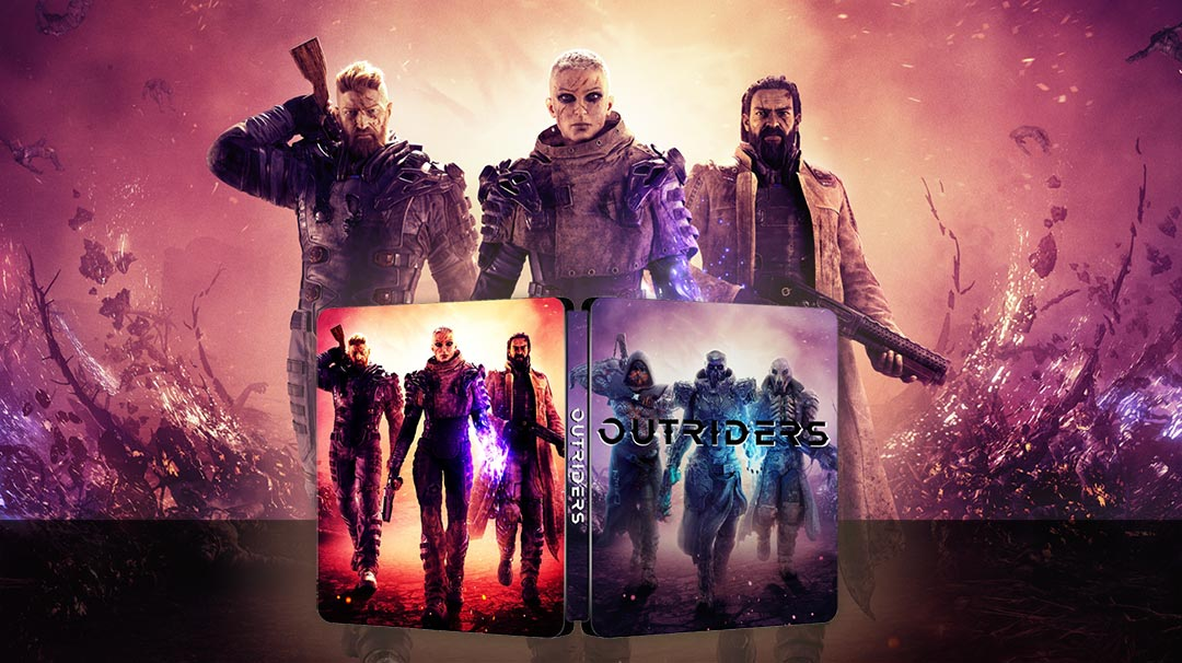 Outriders Steelbook FantasyBox Edition