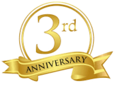 Special Offer for the 3rd Anniversary of toues