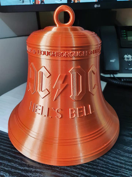 red copper bell