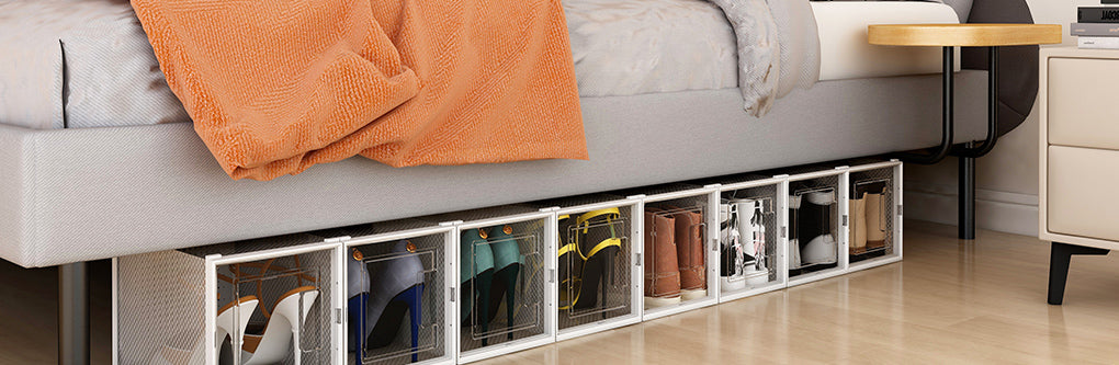 shoes and save storage space.
