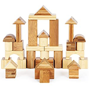 Construction castle by rocsmac bamboo blocks