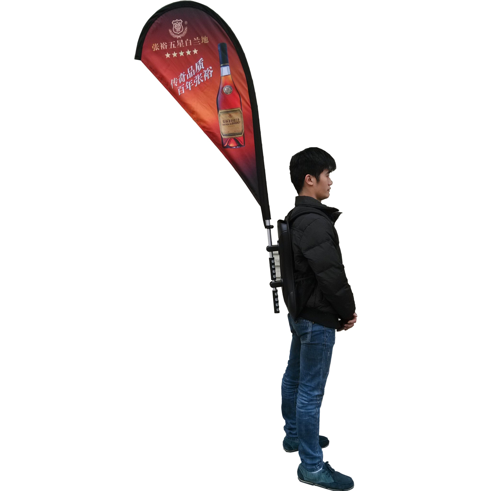 backpack banners flags for walking advertising parade advertising outdoor