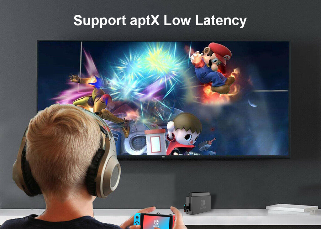 1Mii Bluetooth Adapter for Nintendo Switch supports aptX Low Latency
