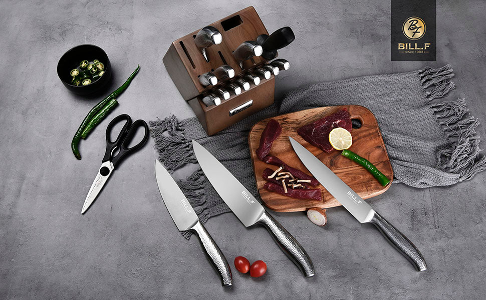Knife Set with Block