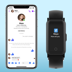 fitness watches notification