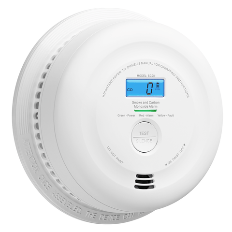 x-sense sc08 wireless interconnected smoke detector