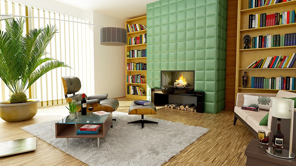 Casual And Formal Living Room Design