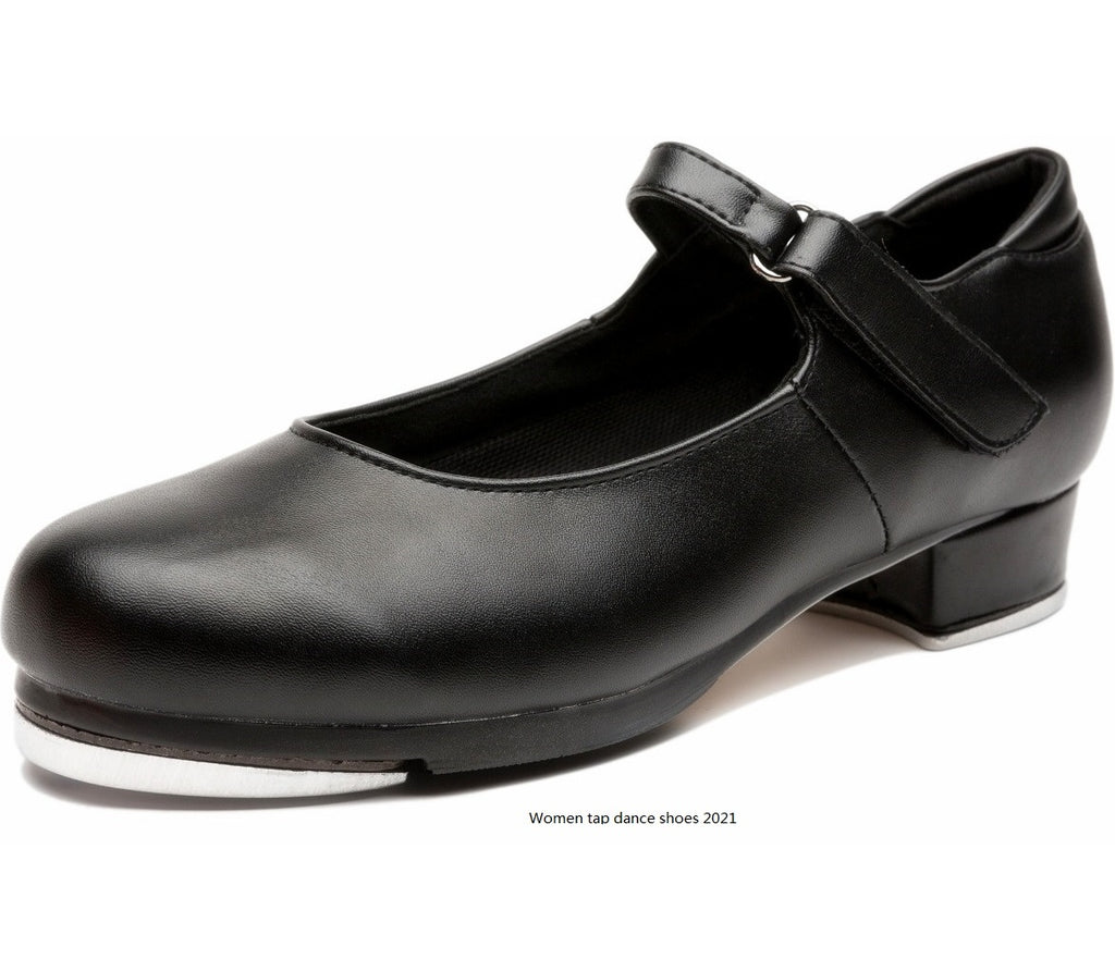 leather tap shoes