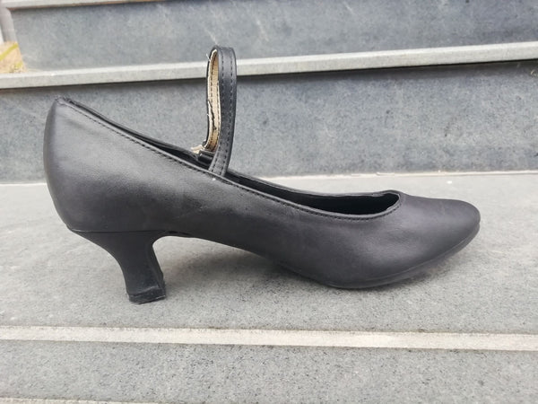 Latin dance shoes and leather shoes