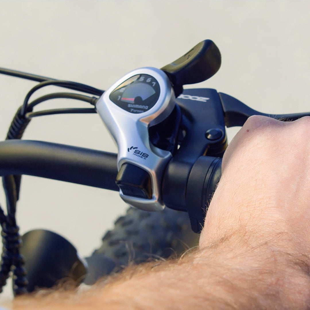 Haoqi Electric Fat tire Bike Some tips about the throttle does not work during use