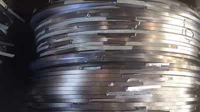 steel coil for making PET strapping clips