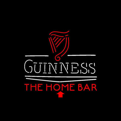 Guinness Classic Home Bar Custom Personalized custom sign pro led sign