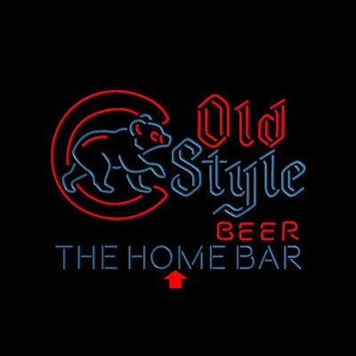 Cubs Old Style Home Bar Custom Personalized custom sign pro led sign