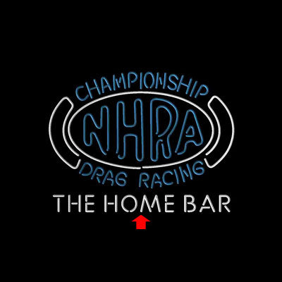 NHRA Drags Racing Custom Personalized custom sign pro led sign