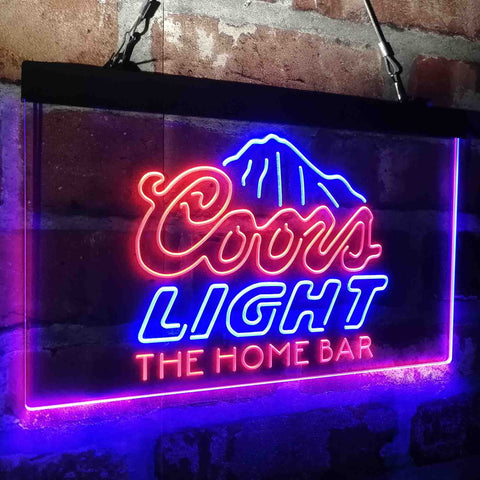 Coors Light Mountain Home Bar Custom Personalized custom sign-pro led sign