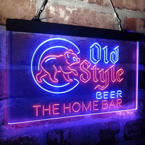 Cubs Old Style Home Bar Custom Personalized custom sign-pro led sign