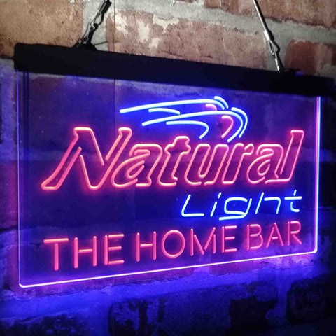 Natural Light Home Bar Gift Custom Personalized custom sign-pro led sign