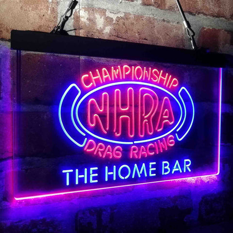 NHRA Drags Racing Custom Personalized custom sign-pro led sign