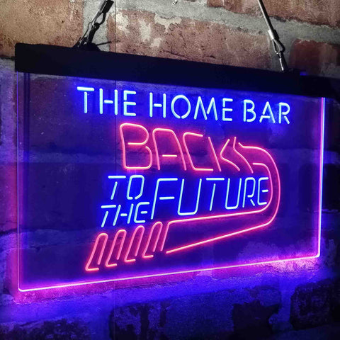 Back to The Future Movie Home Theater Custom Personalized custom sign-pro led sign