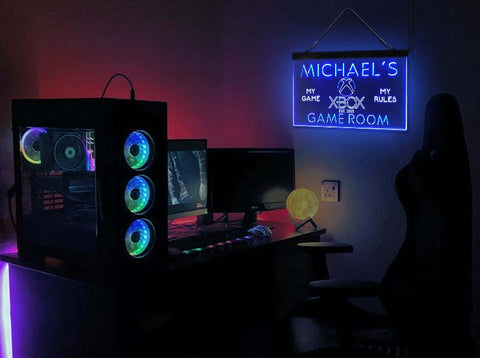 Custom XBOX My Game Room neon sign-pro led sign