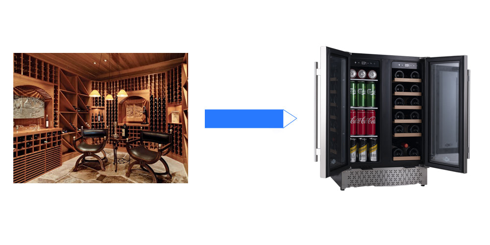 wine-cooler-cellar-in-the-home