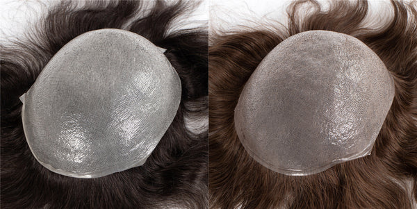In Stock Thin Skin Human Hair Replacement