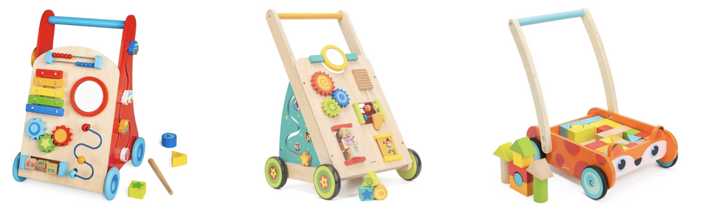 Baby Wooden Walker Car Collection