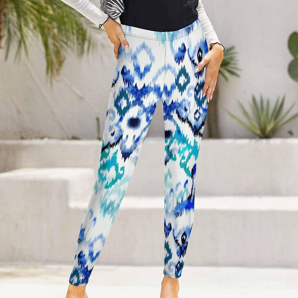 Regular Casual Leggings Sports Pants Yoga Pants for Women and Ladies NZ205 Custom Design Printing with Your Photos / Pictures or Text