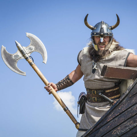 What kind of weapons did Viking use?