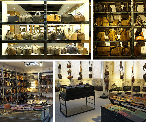 hanmade leather store at leatheretro