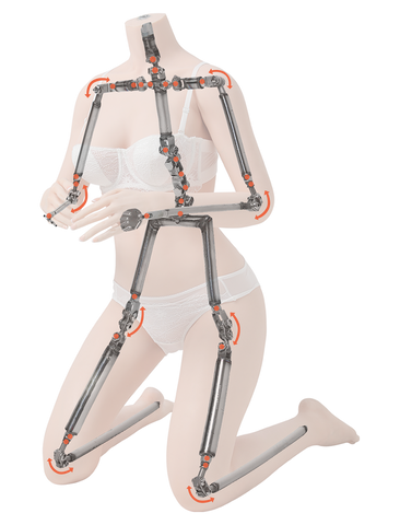 The Skeleton Of The BB(CST) Silicone Sex Dolls