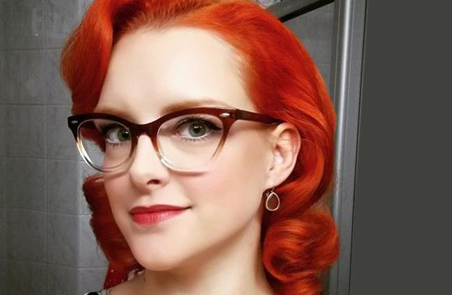 Glasses for red hair