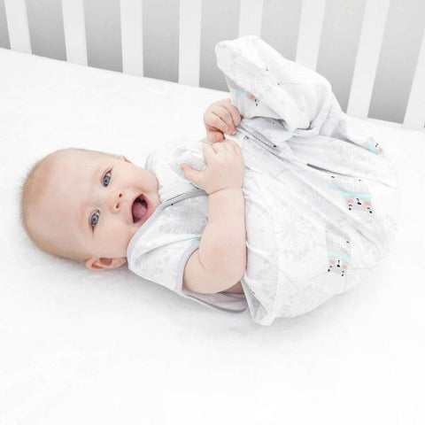 2-Pack Breathable Cotton Baby Wearable Blanket   Tillyou
