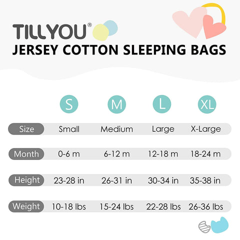 2-Pack Cotton Baby Wearable Blanket TOG 0.5 - Green Candy