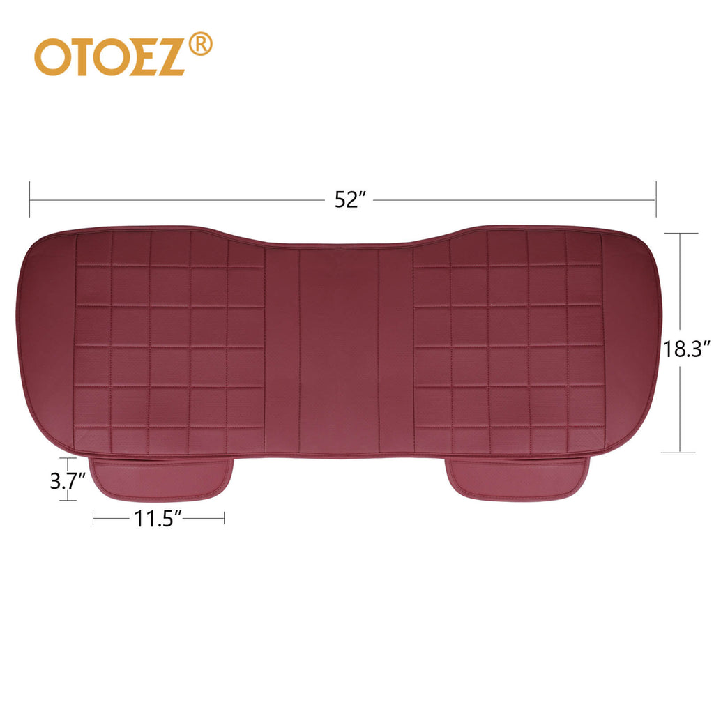 The size of the rear 3D breathable car seat pad