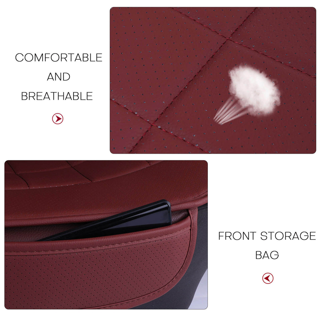 Design and material of the 3D breathable car seat pad