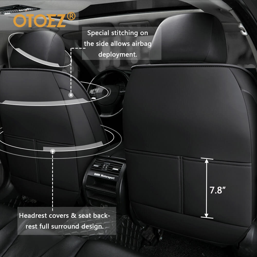 Design of the adjustable 5 car Seats covers