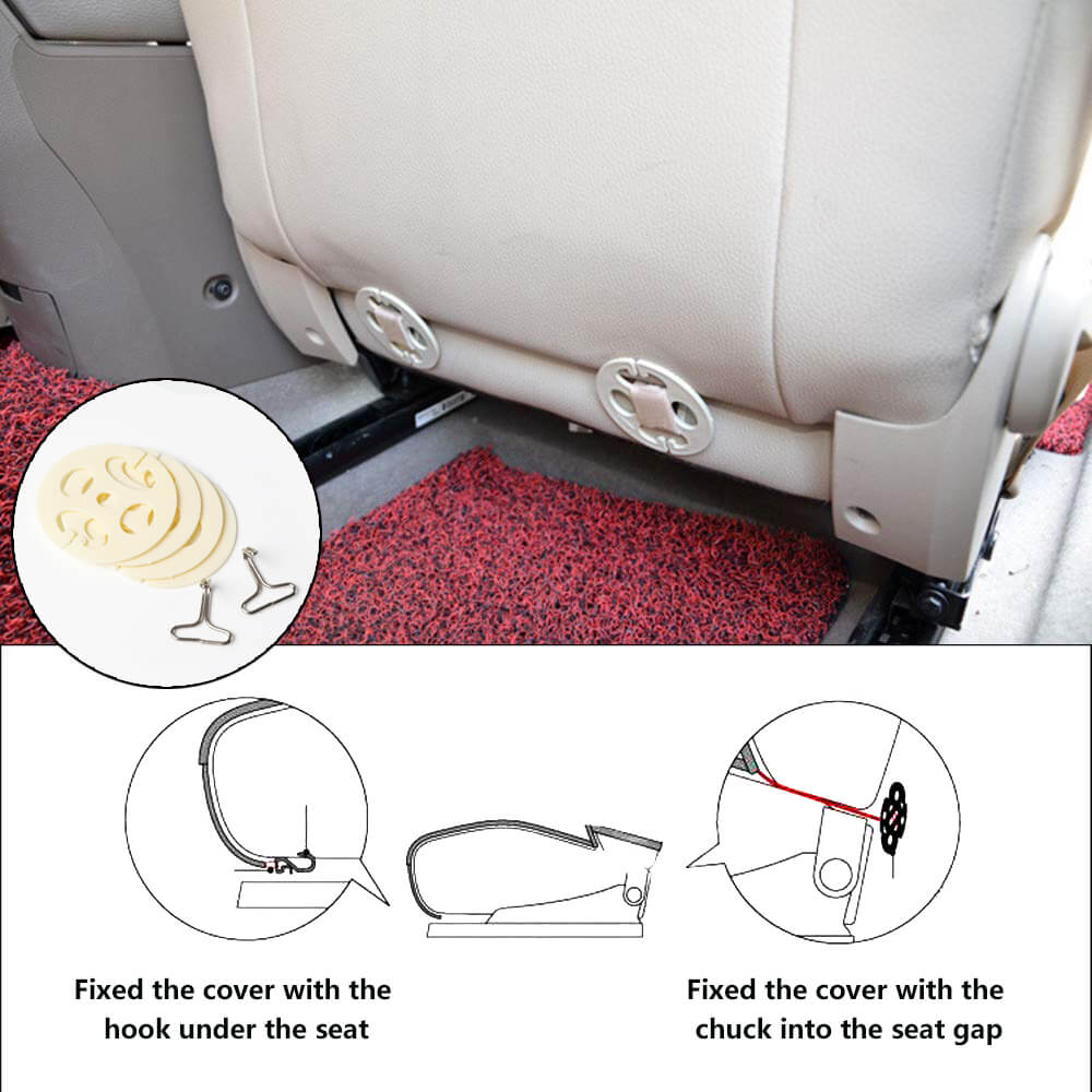 Accessories of the seat cover